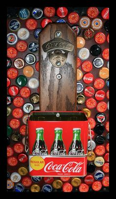 Coca-Cola Cap Catcher & Display