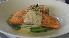Mustard and Dill Broiled Salmon