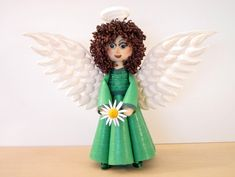 Bridgit's Quilling Doll to a Angel (Part 2) Tutorial - YouTube
