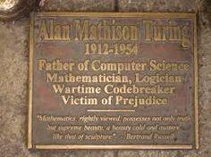 Turing e la Gran Bretagna omofoba Targa_Alan_Turing