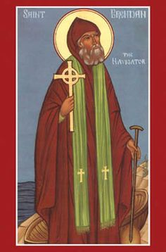 This holy monk is the patron of my dear son, Brendan Pádraig.