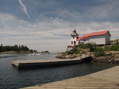 Pointe au Baril, Parry, Sound, Lighthouse on Georgian Bay by Amateur Photography News #lighthouse #lake #seascape #landscape