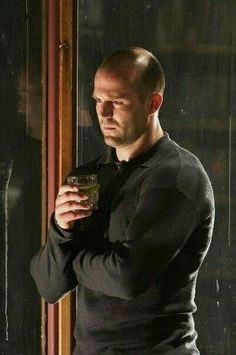 Jason~ I'd say that was a J & G lol! if it wasn't a film that is :P Jason Statham, Hollywood Men, Hollywood Celebrities, Chris Hemsworth, Rosie And Jason, The Expendables, Dream Guy, Perfect Man, Stylish Men