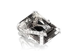 Amo quartzo rutilado. Glossário joias CHANEL - Anéis, pérola, ouro, platina, Alta joalheria CHANEL