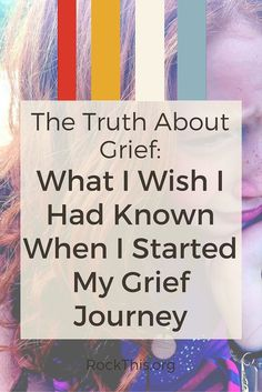 Grief is a part of the human condition, but why do we not talk about? Abby Rike, who lost her husband and 2 children in a fatal car crash, starts the conversation here. If you're hurting, this is a must read.