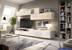 Tv Furniture, Furniture Design, Living Room Decor, Bedroom Decor, Living Room Tv Unit Designs, Storage Design, Family Room, Sweet Home, New Homes
