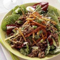 Beef It Up: Quick and Easy Family Dinners: Thai Ground Beef Salad (via Parents.com)