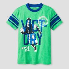 Boys' Victory Activewear T-Shirt Cat & Jack™ - Island Green
