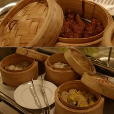 Chinese dimsum at the city's best buffet.
