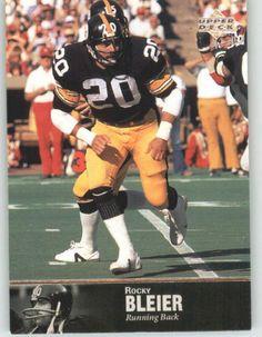 #59 Rocky Bleier 1976  #522 | 1997 upper deck legends 79   pittsburgh steelers football