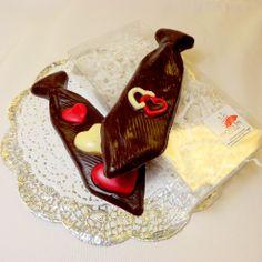 Chocolate Heart Tie | Chocolate Rain Shop for Handmade Chocolates