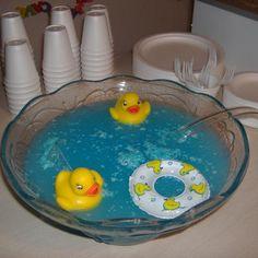 blue baby shower punch baby shower drink ideas pinterest blue