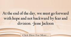 Jesse Jackson Quotes About Fear - 21997