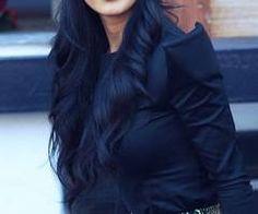 Turban Style by Nicole Scherzinger Look Fashion, Fashion Beauty, Womens Fashion, Dark Blue Hair, Divas, Nicole Scherzinger, Turban Style, Mode Hijab, Lady
