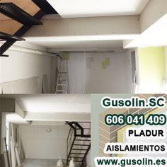 Reformando sótano, #tabiques, #techos y  forrado de baja tes. #pladur #utrera #Sevilla http://www.gusolin.es/