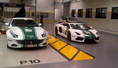 Ferrari FF and Lambo Aventador for Dubai Police: Awesome!
