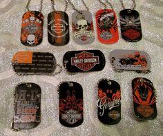 Harley Davidson Dogtag Key chain for Backpacks, Purse, Party Favor #HarleyDavidson #All