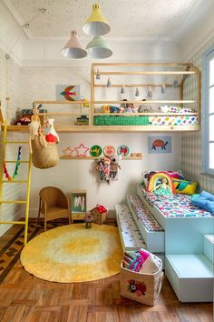 Each and every room of your home is undoubtedly very important and needs special care and attention in its decoration. But when it comes to your kids room then you need to be extra cautious as your kids bedroom design… Continue Reading → Bedroom Loft, Baby Bedroom, Girls Bedroom, Dream Bedroom, Girl Nursery, Cool Kids Bedrooms, Kids Bedroom Sets, Cool Girl Rooms, Kid Bedrooms