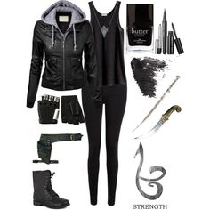 Made this shadowhunter outfit on polyvore!