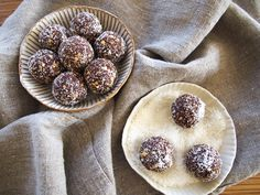Cacao Coconut Rough Balls