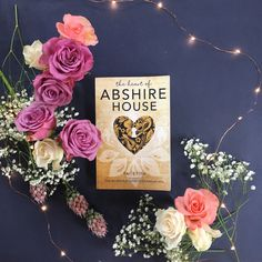 The Heart of Abshire House Graphic Design Fonts, Fiction Novels, Coming Of Age, Hadley, Artist At Work, Cover Design, Floral Wreath, The Incredibles, Invitations