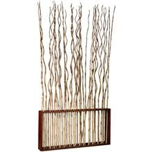 Marissa Rectangular Pole Bamboo Vertical Room Divider