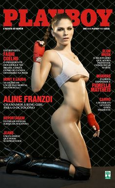 Aline Franzoi, A Deliciosa Ring Girl do UFC! - Setembro 2013