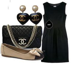#chanel#outfit#chic#bonton#black