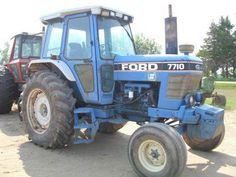 Ford 7710 tractor - for parts