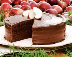 Chocolate Applesauce Layer Cake - one to try in the future. Chocolate Frosting, Cake Chocolate, Unsweetened Applesauce, Pie Cake, Recipe Details, Dessert Recipes, Desserts, Let Them Eat Cake, Food Dishes