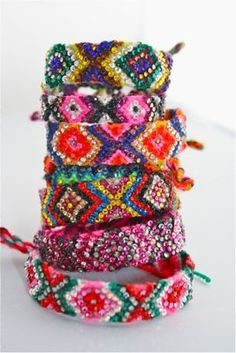 Peace, Love and Friendship Bracelets :)