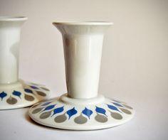 A Love for Pottery & Ceramics Pottery Designs, Ceramic Decor, Scandinavian, Candle Holders, Arts And Crafts, Porcelain, Candles, Ceramics, Retro
