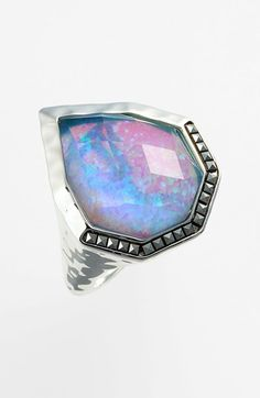 Judith Jack 'Waterfall' Cocktail Ring (rainbow moonstone- my fav stone, ever)