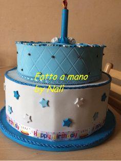 Torta scenografica per compleanno in fommy