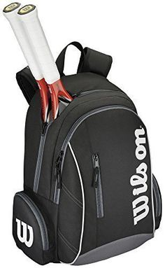 Wilson Tennis Sports Storage Luggage Holdall Advantage II Backpack One Size (Colour Options) Cool Backpacks For Men, Men's Backpacks, Stylish Backpacks, Tennis Drawing, Sports Storage, Tennis Equipment, Tennis Workout, Tennis Tips, Golf Tips For Beginners