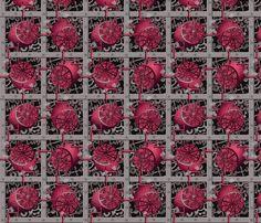 Steampunk Lemons - How Pink Lemonade is Made fabric by glimmericks on Spoonflower - custom fabric