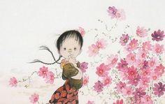 秋 - アトリエウメ 日本画家 中島潔の公式ホームページ