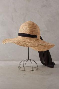 Anthropologie Meadowsweet Sun Hat #anthrofave