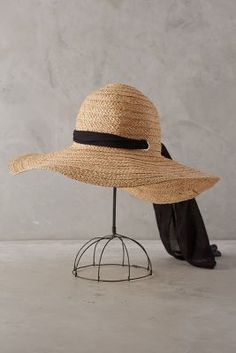Anthropologie Meadowsweet Sun Hat #anthroregistry