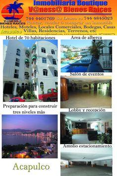 Acapulco Hotel en Venta
