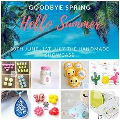 🌻🦋🍦☀️😎ITS STARTING TO LOOK A LOT LIKE SUMMER 👙🍉🍹🏏 You'll need to here Online 30 June - 1 July 18 ☀️ www.facebook.com/events/375157672990461☀️ WE HAVE A FABULOUS COLLECTION OF HANDMADE SUMMER GREATNESS FOR YOU!