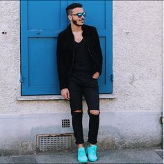Un look tendance pour homme #chic #urbain #men #sneakers #baskets #classy