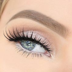 Danyel Cosmetics loves light pink for Valentines Day!!! Go to www.danyelcosmetics.com for our light pink eye shadow that will help achieve this look! #weddingmakeup