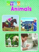 Book Jacket for: STEM jobs with animals