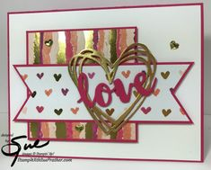 Stampin' Up! Painted with Love for the Inkin' Krew Team Blog Hop | Stamp With Sue Prather