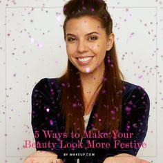 festive beauty tips