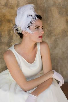 Headpiece by Batcake Couture//Photo by Stephanie Williams Photography