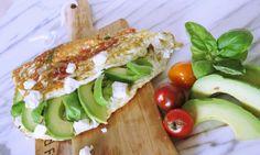 Power lunch! Deze eiwit omelet doet het perfect voor of na het sporten   Goodfoodlove