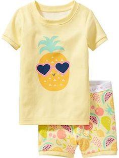 Fruit-Print PJ Sets for Baby | Old Navy