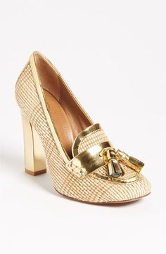 Tory Burch Careen Pump | Nordstrom <-- fight closed-toe work guidelines with a big pop of shine